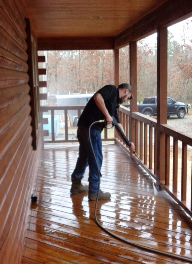 Log Home Chemical Stripping Elite Log Home Services - Chemical stripping hardwood floors