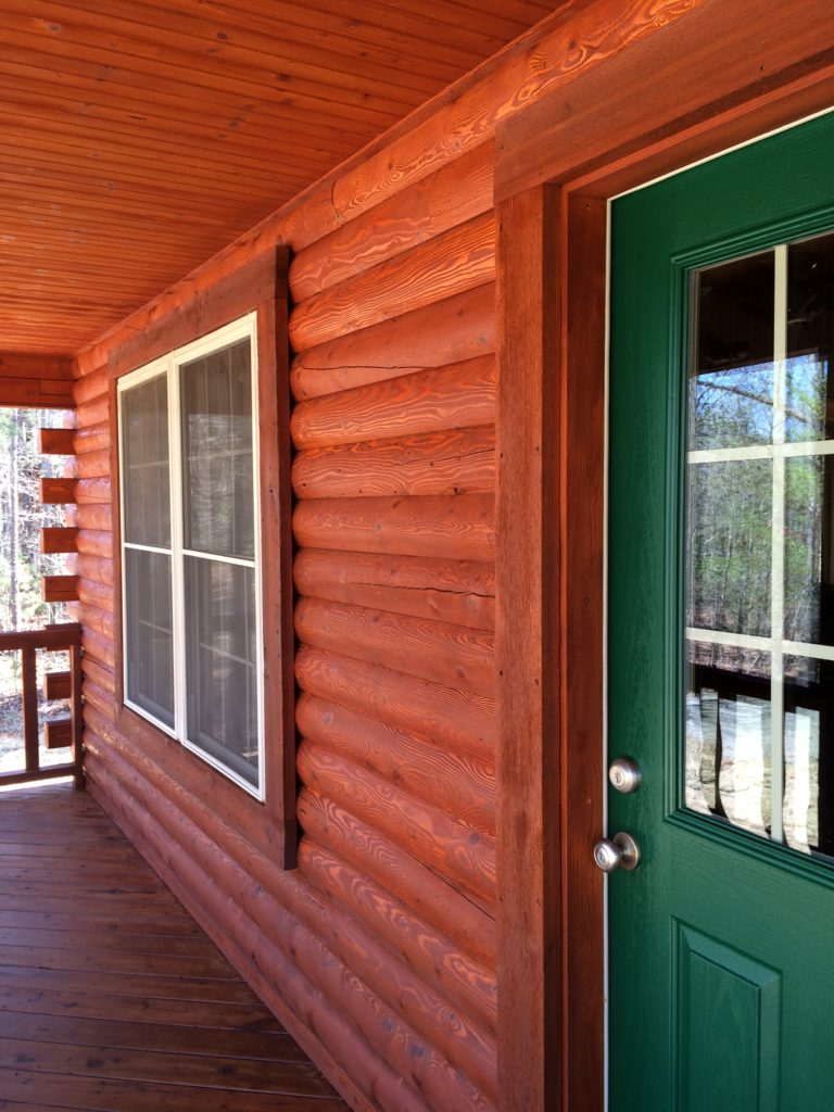 Log Home Staining Elite Services